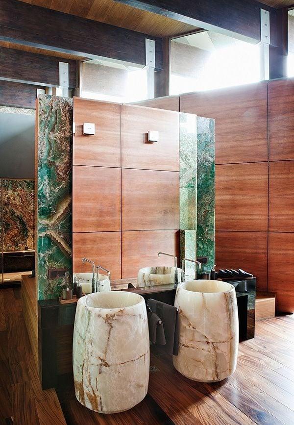 4refined and eye catching onyx decor ideas for your interiors 27 Đá mã não: vật liệu trang trí nội thất sang trọng và đẳng cấp qpdesign