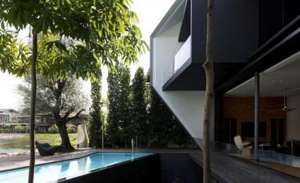 Ngôi nhà kim cương tại Singapore