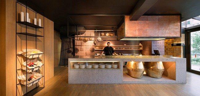 6Odessa Restaurant by YOD Design Lab 00005 Nhà hàng với không gian độc đáo trang trí bằng dây thừng qpdesign