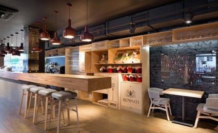 Nhà hàng với không gian độc đáo trang trí bằng dây thừng