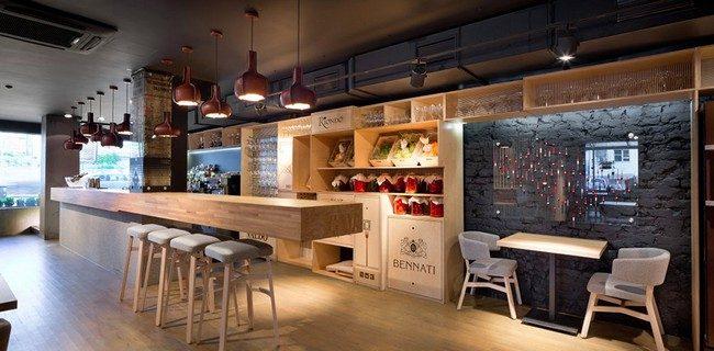 7Odessa Restaurant by YOD Design Lab 00006 Nhà hàng với không gian độc đáo trang trí bằng dây thừng qpdesign