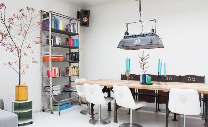 15 mẫu thiết kế đèn bàn ăn cho năm 2016