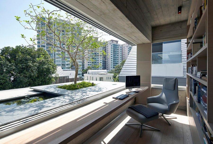9 1449037561 1200x0 Ngôi nhà tại Singapore với không gian xanh dịu mát qpdesign
