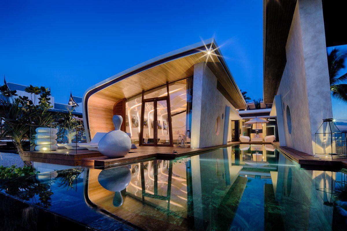 Exquisite Iniala Beach House Interiors By A cero 2 Căn hộ biển nghỉ dưỡng tuyệt đẹp ở Phuket qpdesign