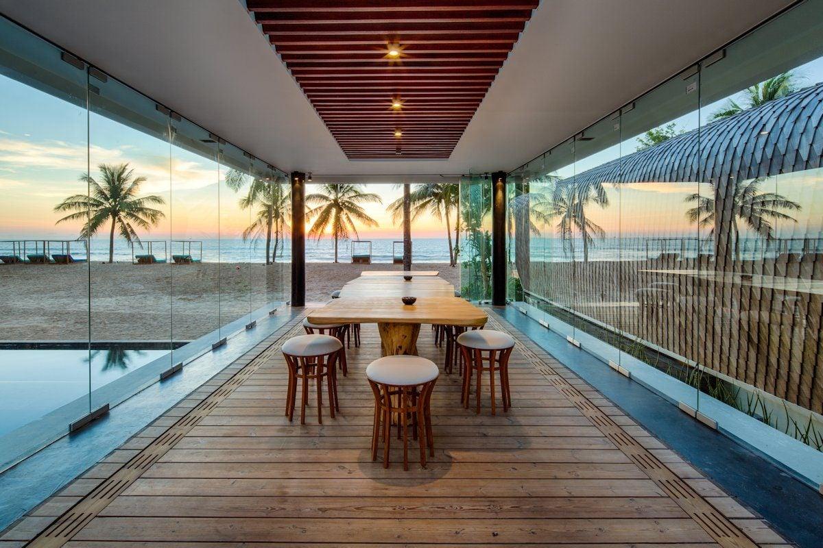 Exquisite Iniala Beach House Interiors By A cero 7 Căn hộ biển nghỉ dưỡng tuyệt đẹp ở Phuket qpdesign