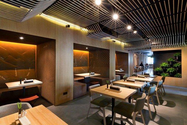 Odessa Restaurant by YOD Design Lab 00012 Nhà hàng với không gian độc đáo trang trí bằng dây thừng qpdesign