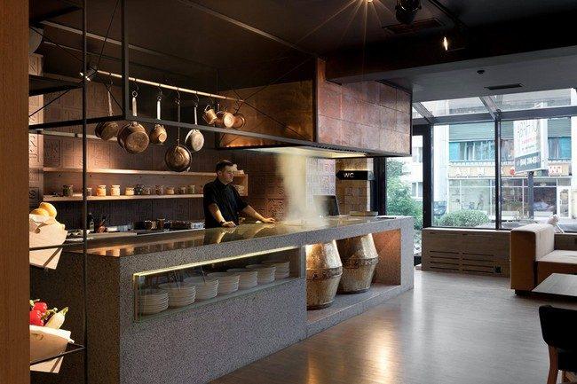 Odessa Restaurant by YOD Design Lab 00014 Nhà hàng với không gian độc đáo trang trí bằng dây thừng qpdesign