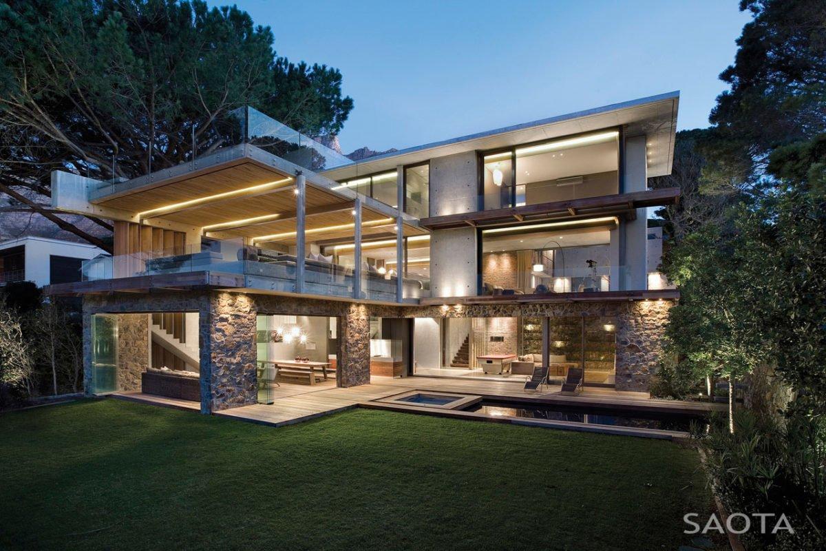 Stunning Glen 2961 House by SAOTA and Three 14 Architects 1 Biệt thự hiện đại hòa cùng thiên nhiên qpdesign