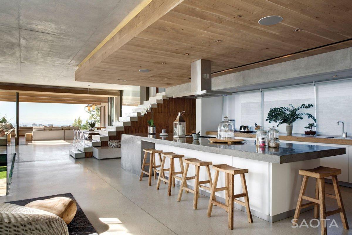 Stunning Glen 2961 House by SAOTA and Three 14 Architects 10 Biệt thự hiện đại hòa cùng thiên nhiên qpdesign
