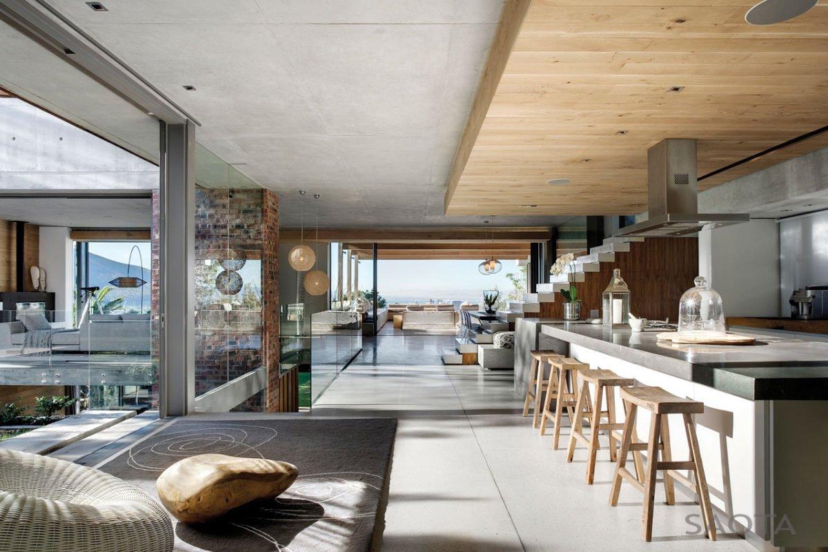 Stunning Glen 2961 House by SAOTA and Three 14 Architects 11 Biệt thự hiện đại hòa cùng thiên nhiên qpdesign