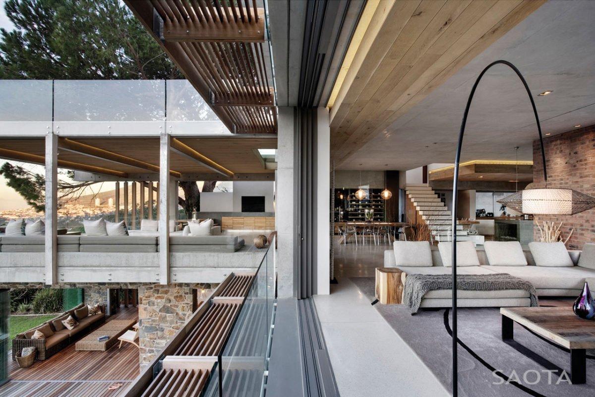 Stunning Glen 2961 House by SAOTA and Three 14 Architects 12 Biệt thự hiện đại hòa cùng thiên nhiên qpdesign