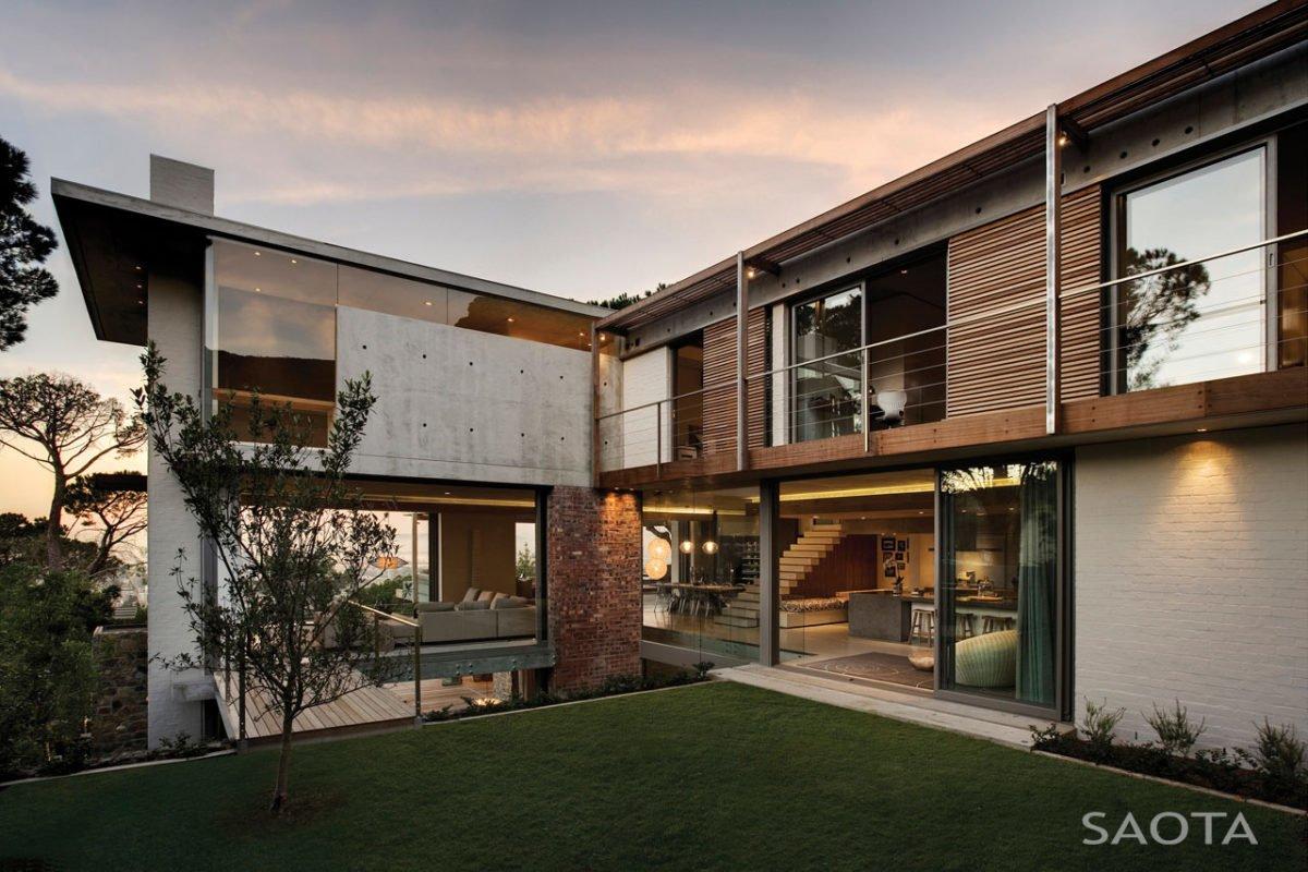 Stunning Glen 2961 House by SAOTA and Three 14 Architects 3 Biệt thự hiện đại hòa cùng thiên nhiên qpdesign