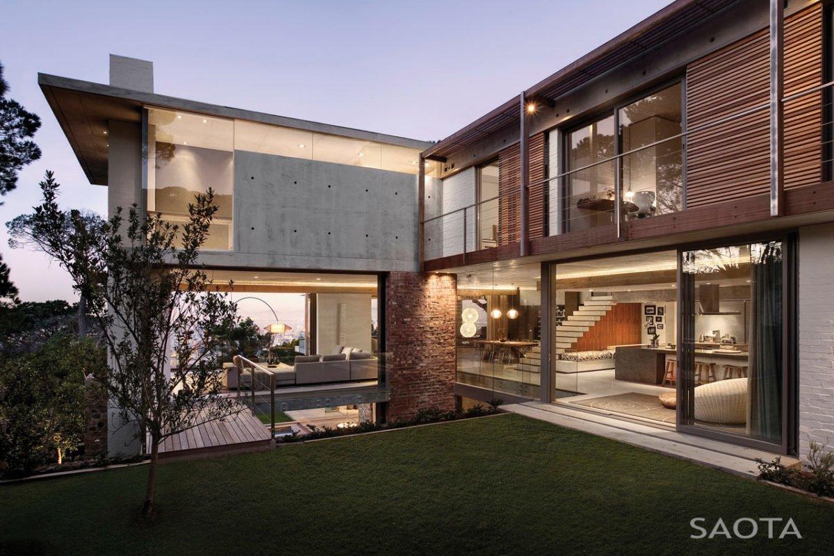 Stunning Glen 2961 House by SAOTA and Three 14 Architects 4 Biệt thự hiện đại hòa cùng thiên nhiên qpdesign