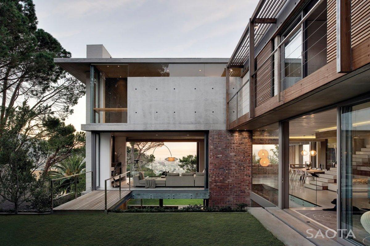Stunning Glen 2961 House by SAOTA and Three 14 Architects 6 Biệt thự hiện đại hòa cùng thiên nhiên qpdesign