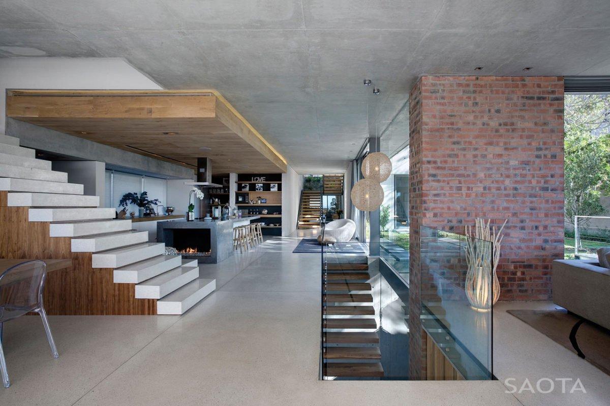 Stunning Glen 2961 House by SAOTA and Three 14 Architects 7 Biệt thự hiện đại hòa cùng thiên nhiên qpdesign