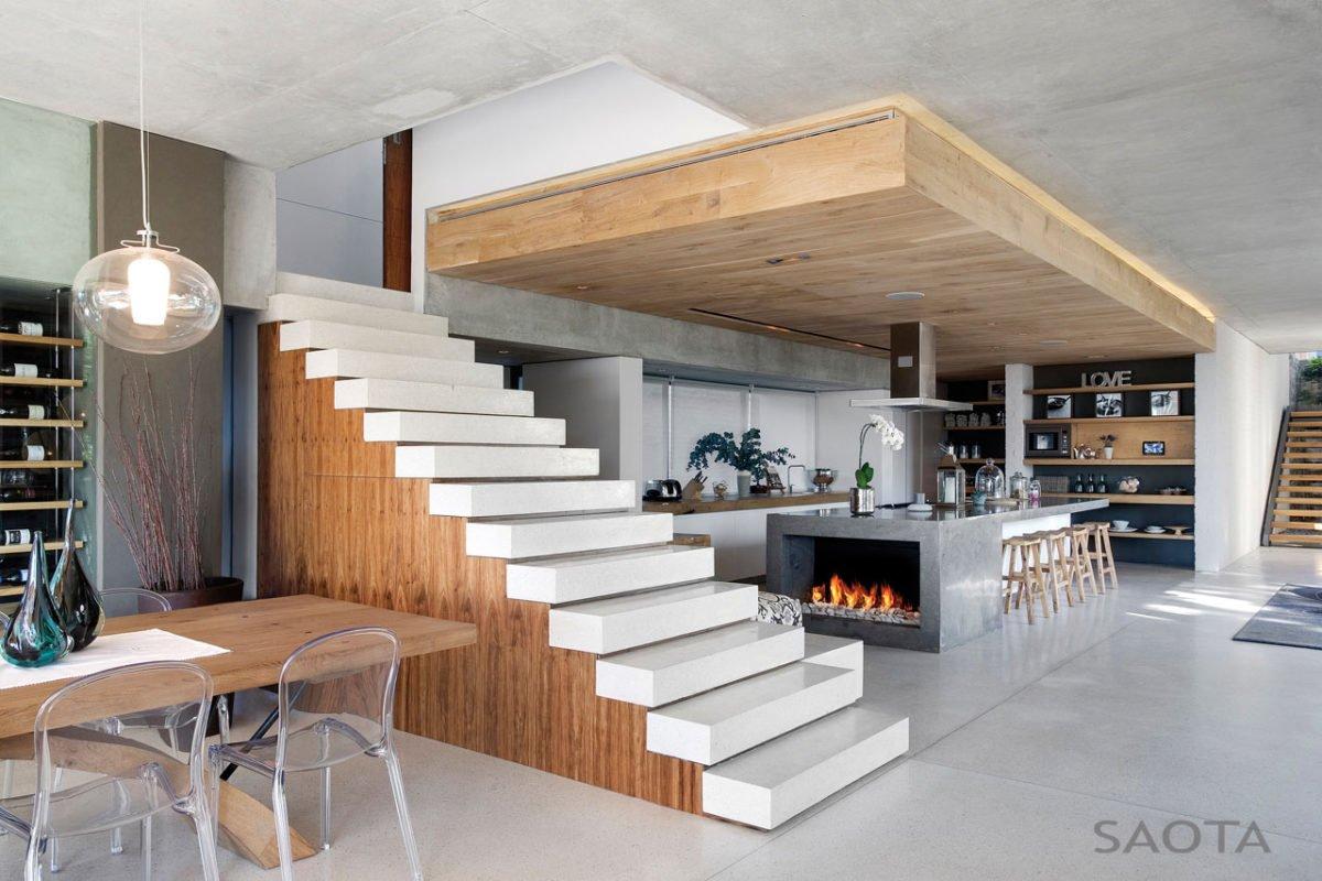Stunning Glen 2961 House by SAOTA and Three 14 Architects 8 Biệt thự hiện đại hòa cùng thiên nhiên qpdesign