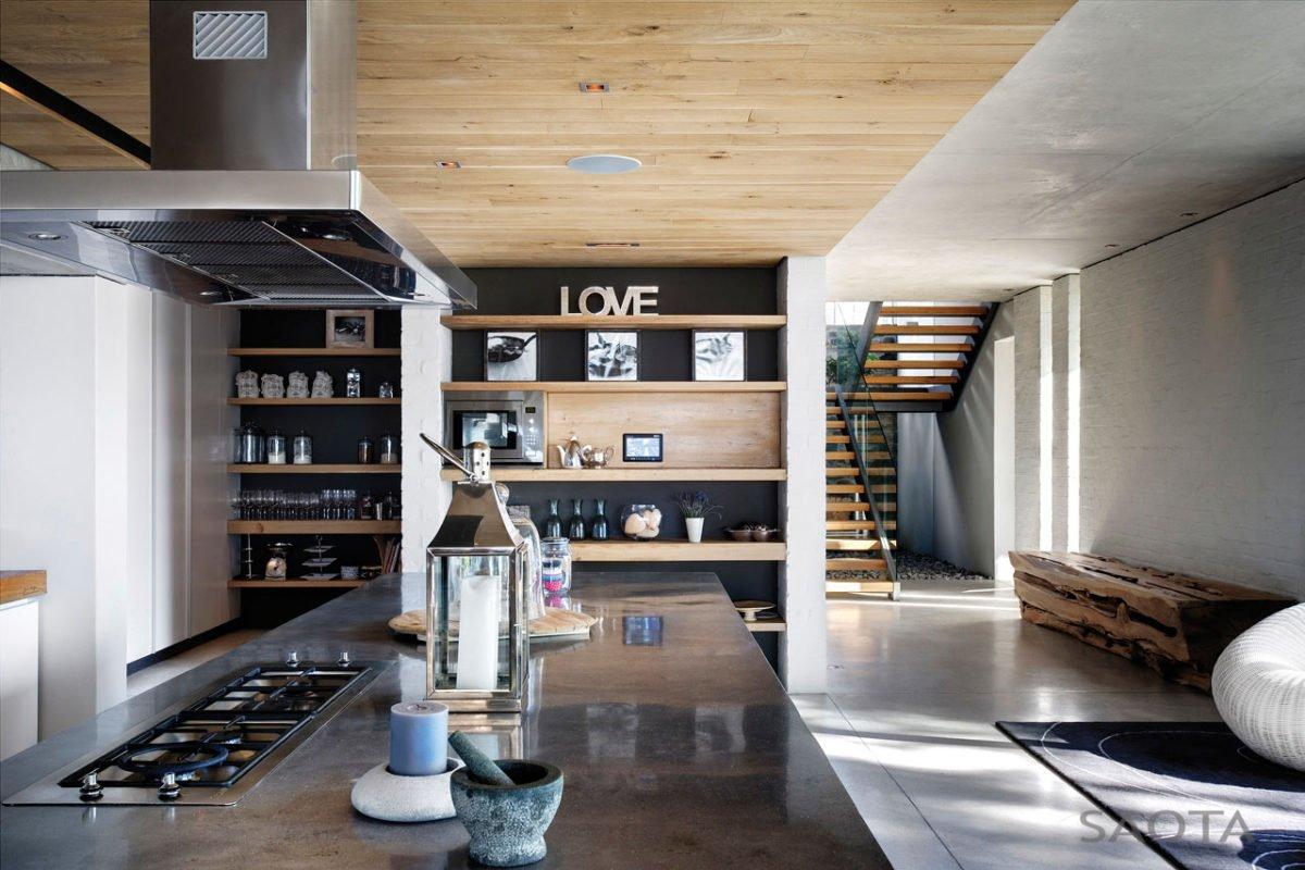 Stunning Glen 2961 House by SAOTA and Three 14 Architects 9 Biệt thự hiện đại hòa cùng thiên nhiên qpdesign