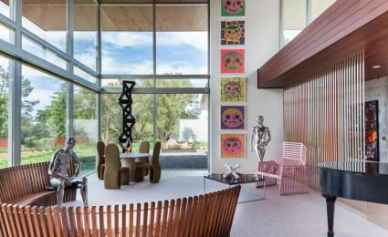 Ngôi nhà của nhà sưu tập đam mê nghệ thuật