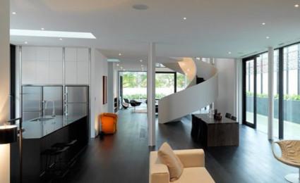 Ngôi nhà hiện đại và quyến rũ theo xu hướng hiện đại