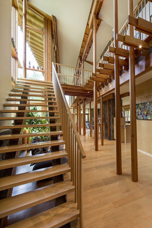 montana glass home with lots of wood in decor 4 Hòa mình cùng thiên nhiên trong ngôi nhà gỗ tuyệt đẹp ở MONTANA qpdesign
