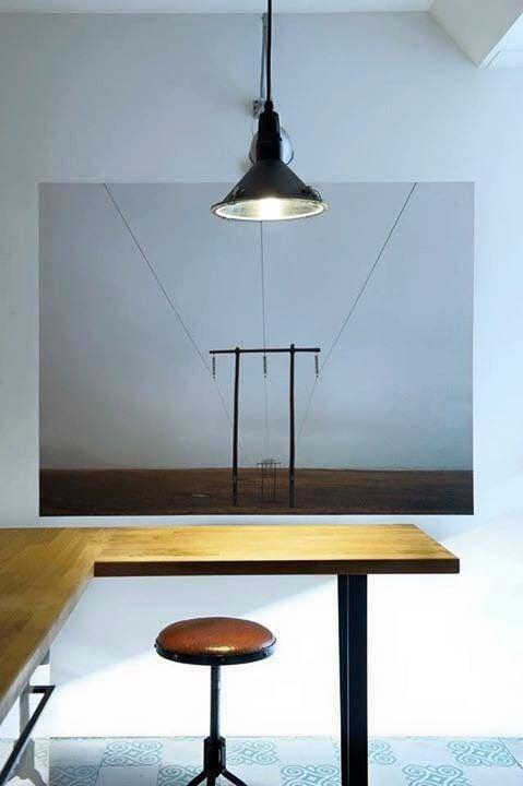 Nội thất gỗ sồi ấn tượng trong phong cách hiện đại