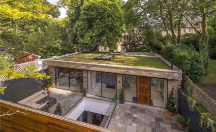 Ấn tượng biệt thự nằm dưới lòng đất tại London