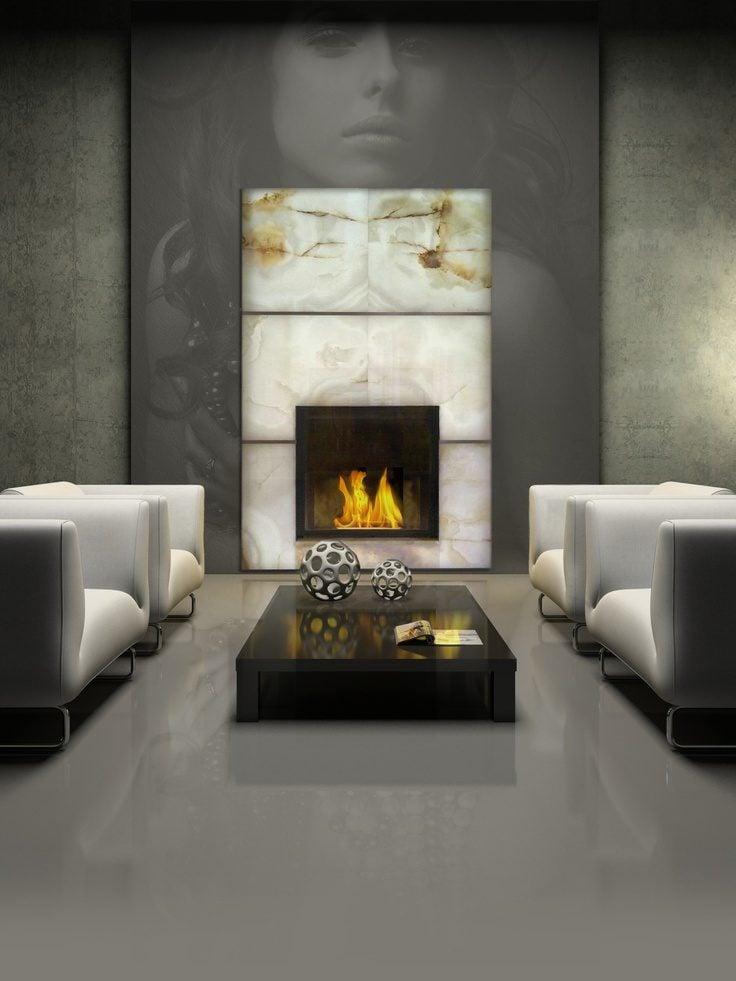 refined and eye catching onyx decor ideas for your interiors 14 Đá mã não: vật liệu trang trí nội thất sang trọng và đẳng cấp qpdesign