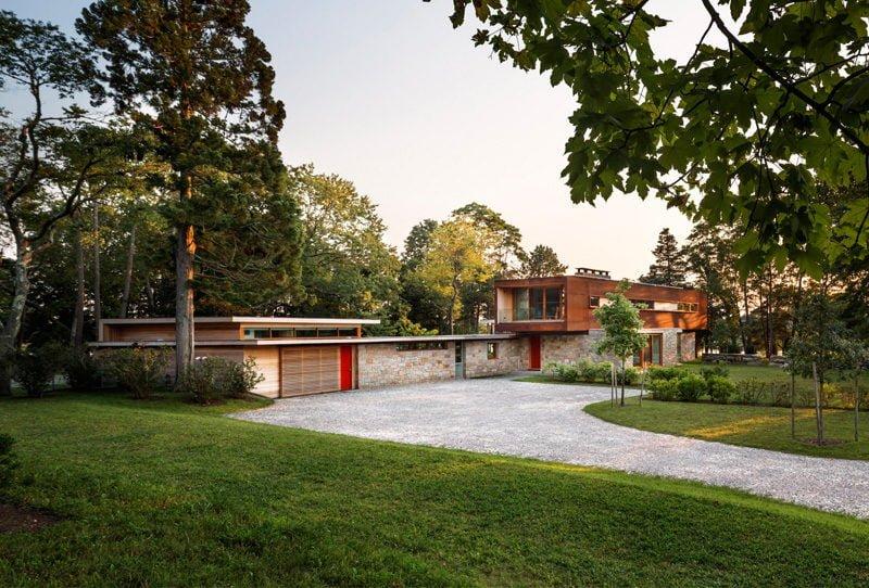 stonington residence 281215 02 Ngôi nhà được cải tạo theo phong cách đương đại ở Mỹ qpdesign