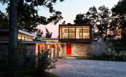 Ngôi nhà được cải tạo theo phong cách đương đại ở Mỹ