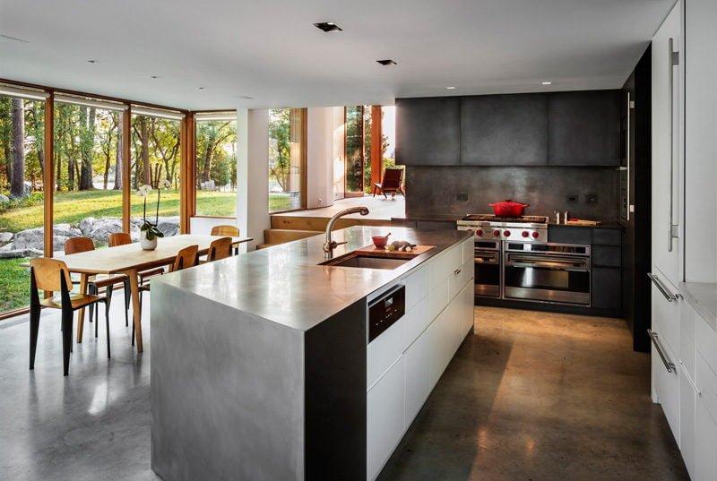stonington residence 281215 08 Ngôi nhà được cải tạo theo phong cách đương đại ở Mỹ qpdesign