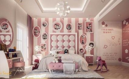 5 phòng ngủ sáng tạo và đầy màu sắc cho trẻ em