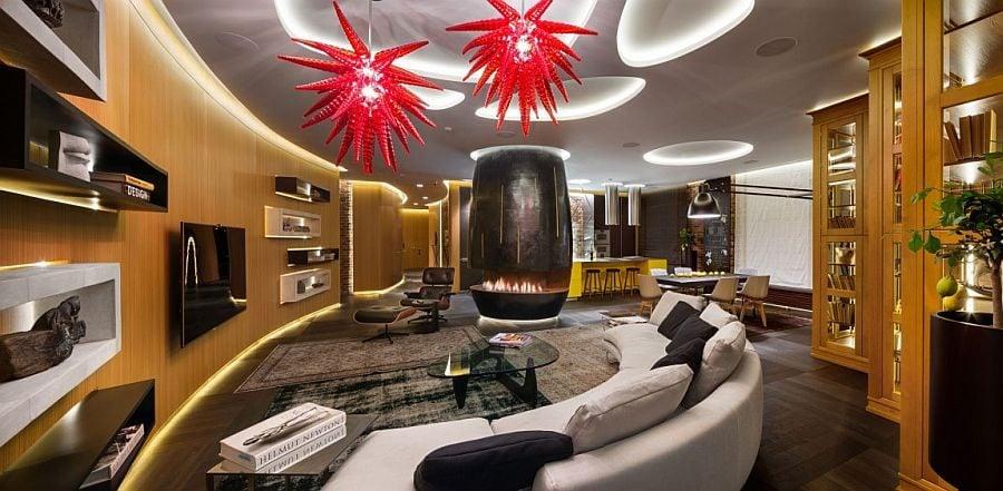 1 Thiết kế căn hộ độc đáo và đầy ấn tượng qpdesign