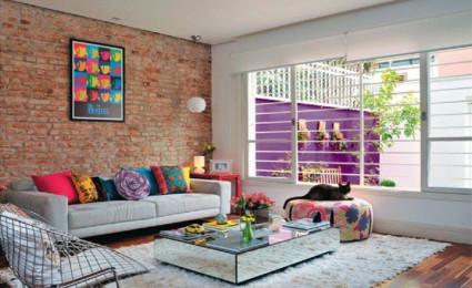 Ngôi nhà thêm lung linh với sự kết hợp nhiều màu sắc sinh động