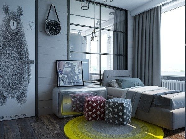 16-retro-rustic-kids-bedroom-600x450