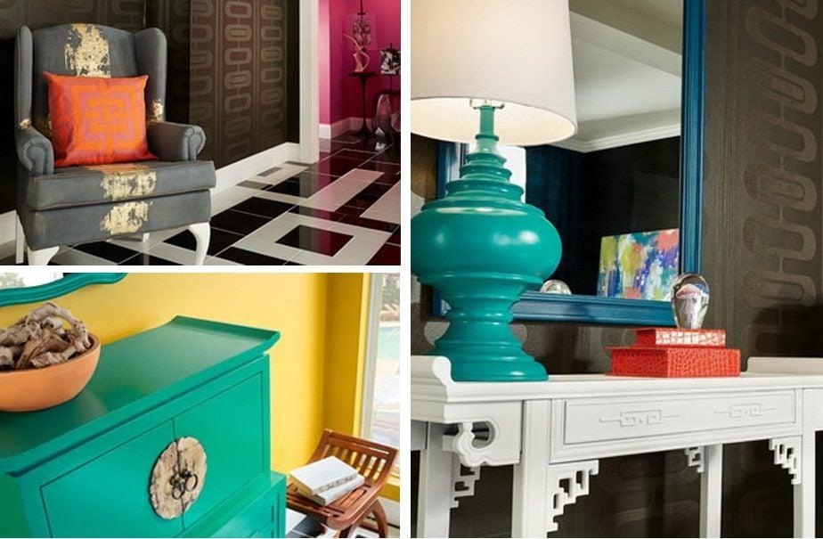 Xu hướng màu sắc trong việc trang trí nhà 2016