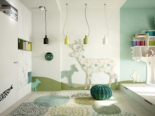 20-wildlife-kids-bedroom-theme-600x450