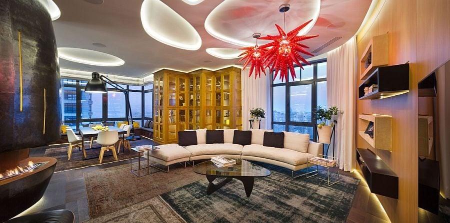 Thiết kế căn hộ độc đáo và đầy ấn tượng