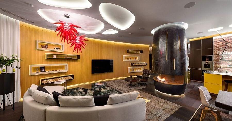 4 Thiết kế căn hộ độc đáo và đầy ấn tượng qpdesign