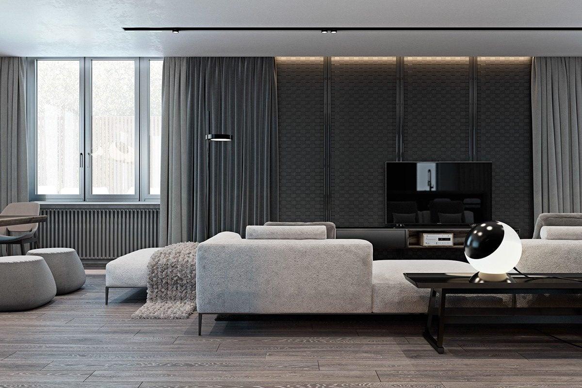 Ngôi nhà cá tính thiết kế theo phong cách hiện đại xen lẫn cổ điển