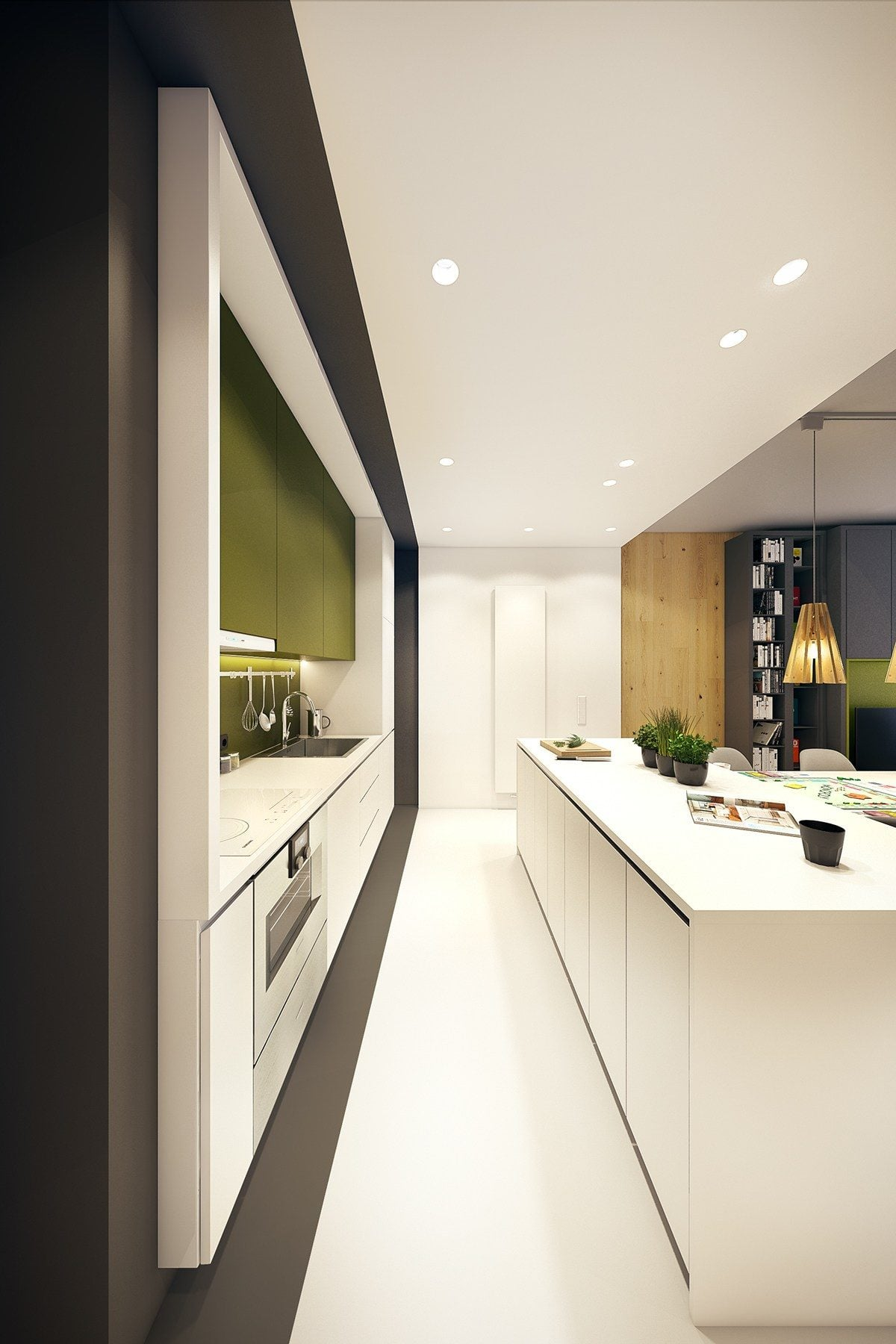 9-minimalist-green-black-and-white-kitchen