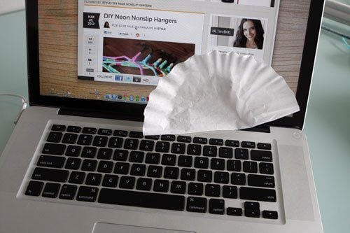 CoffeeFilter Laptop 20 mẹo cực hay và hữu ích làm sạch nhà đón tết qpdesign