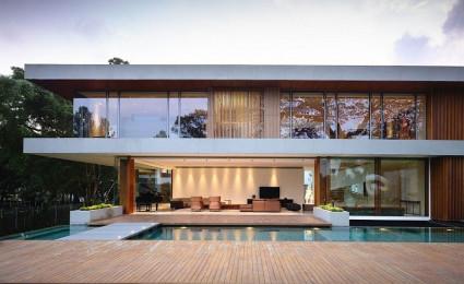 Biệt thự tại Singapore với thiết kế không gian mở gần gũi với thiên nhiên