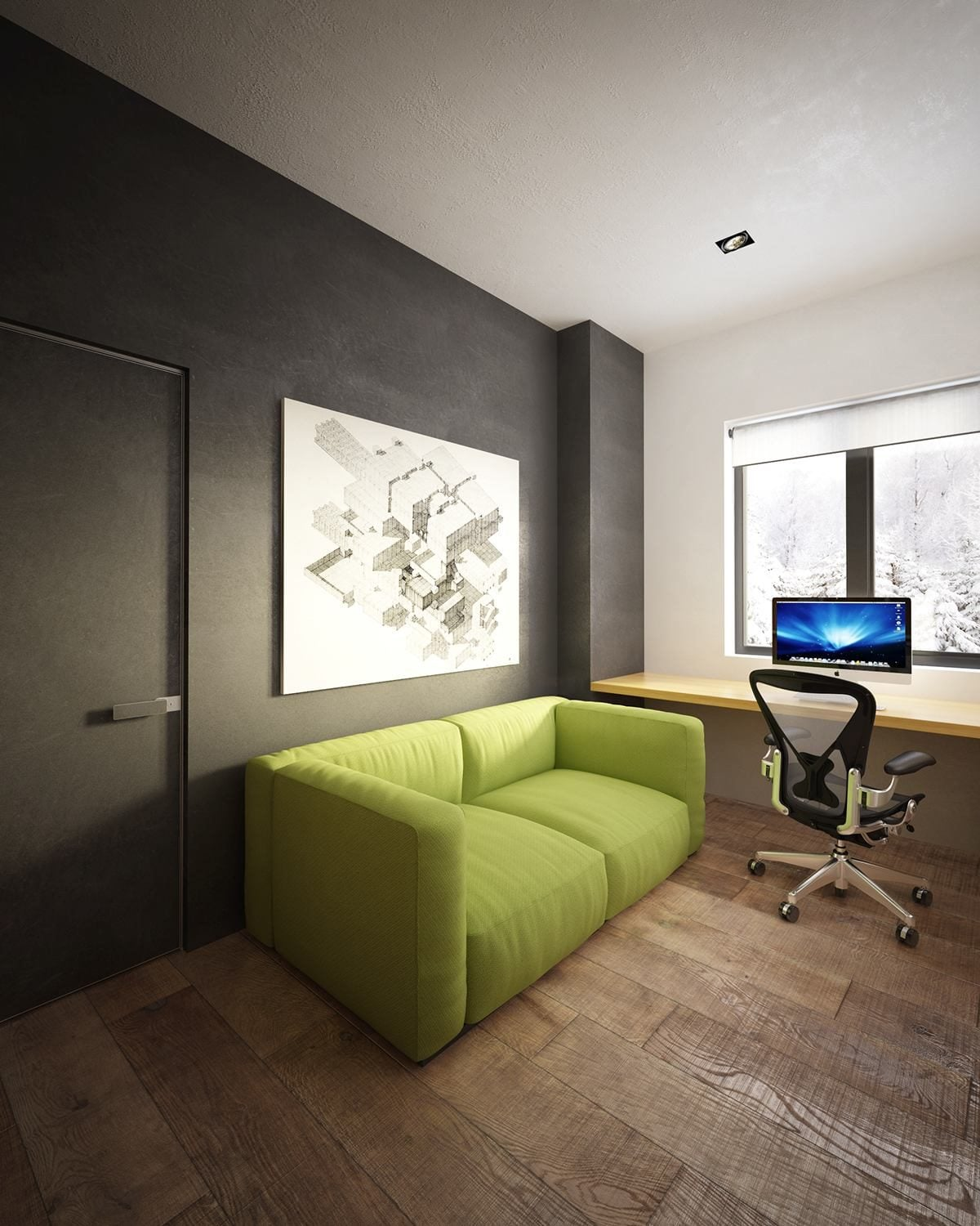 black-and-green-office-design-11