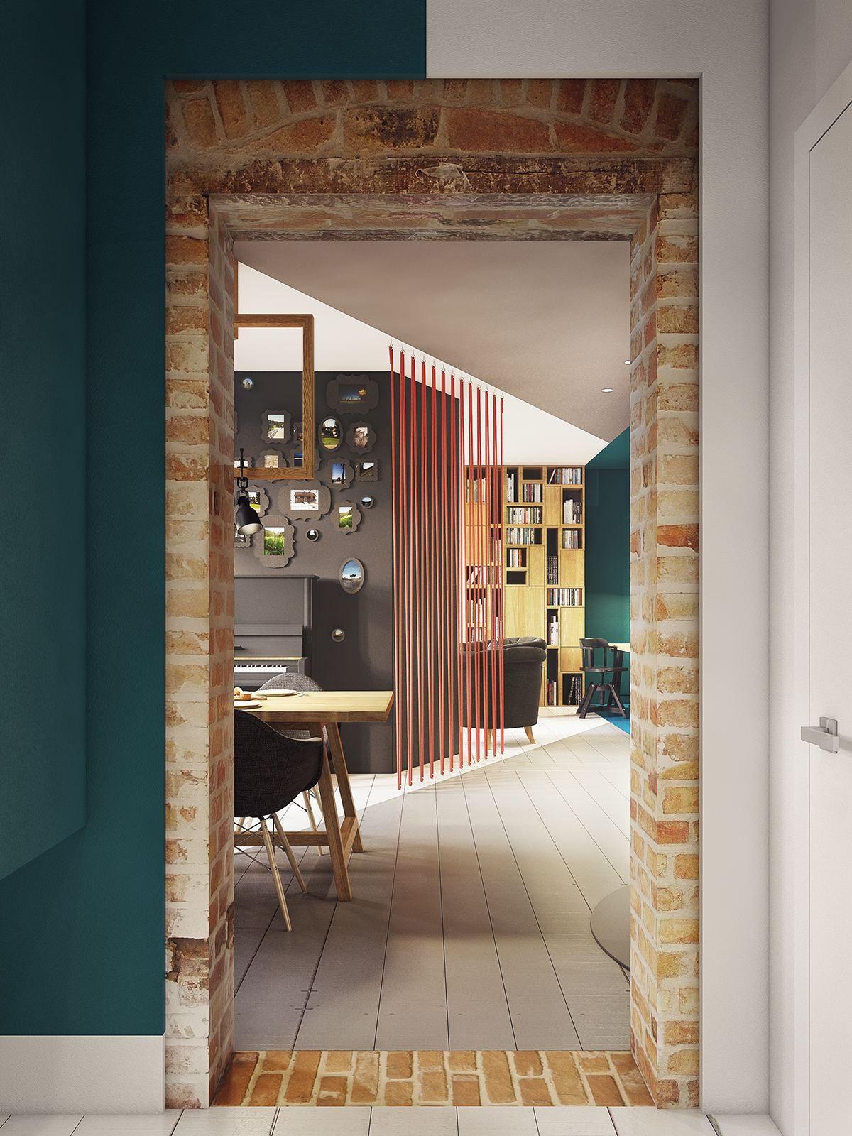 chic modern interior ideas Căn hộ hiện đại tuyệt đẹp với thiết kế đầy màu sắc qpdesign