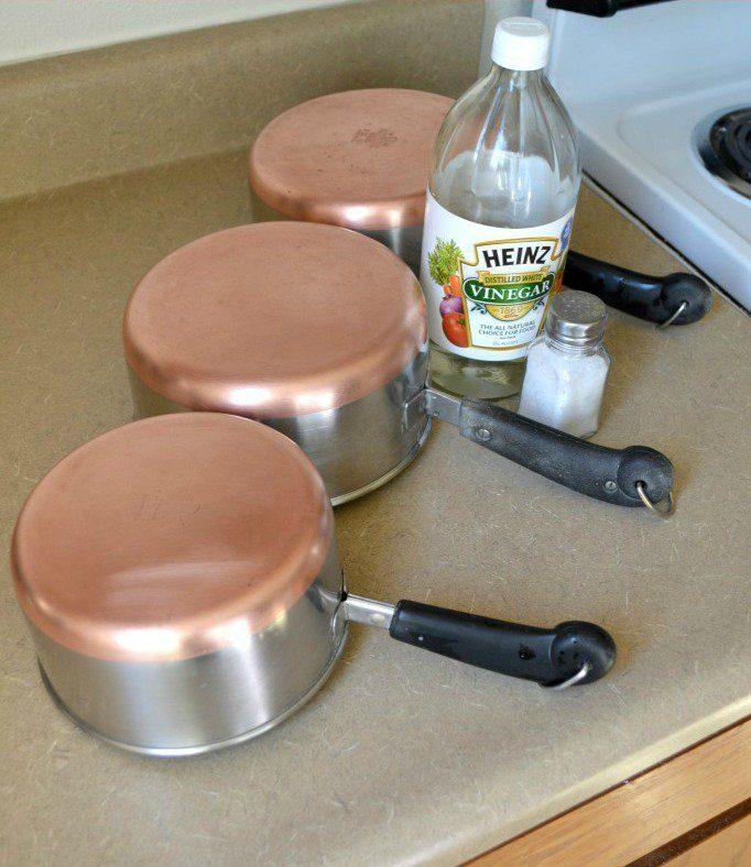 how to clean copper pots with salt and vinegar 20 mẹo cực hay và hữu ích làm sạch nhà đón tết qpdesign