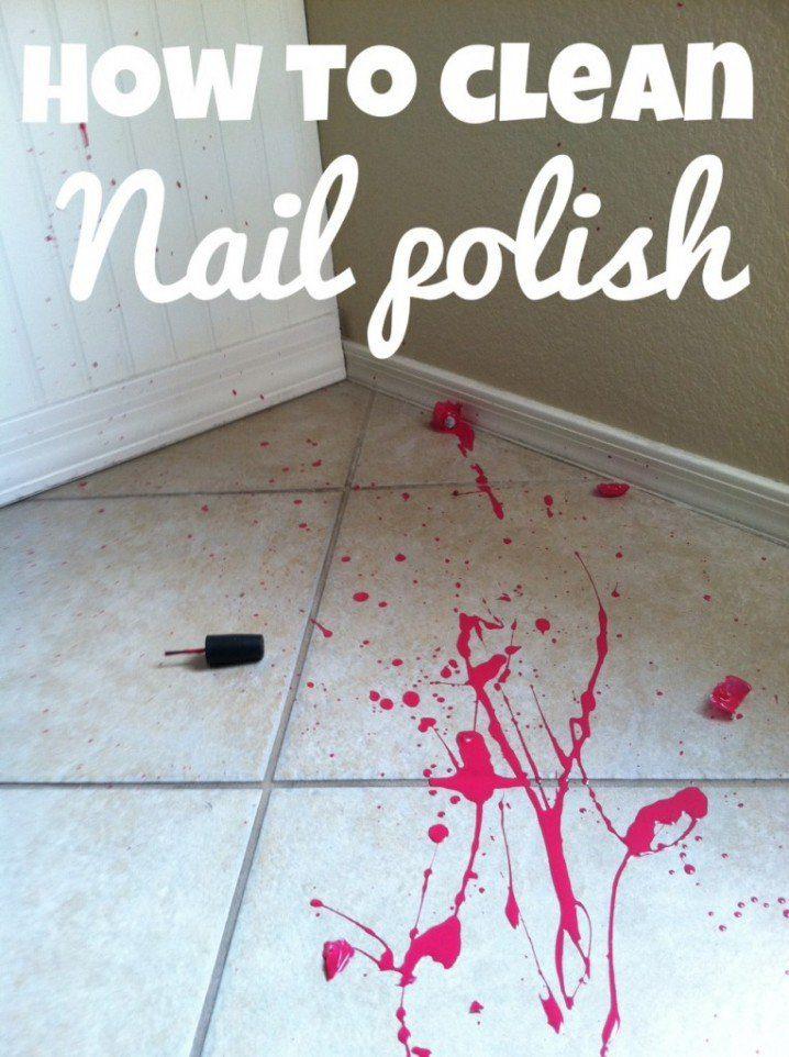 how to clean nail polish 718x962 20 mẹo cực hay và hữu ích làm sạch nhà đón tết qpdesign