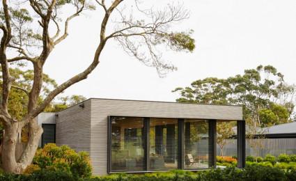 Ngôi nhà nghỉ dưỡng mang phong cách đương đại tại Úc