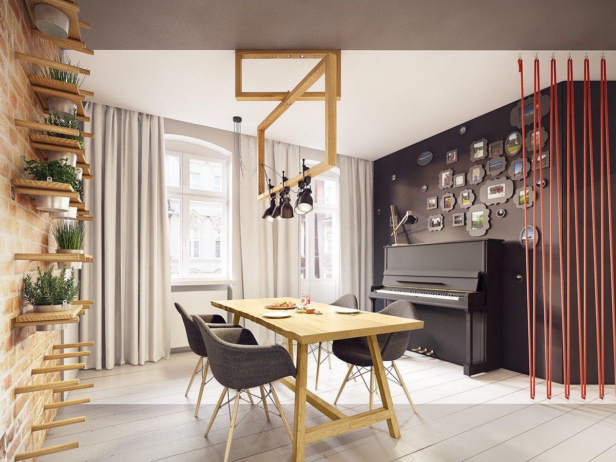unique picture frame ideas Căn hộ hiện đại tuyệt đẹp với thiết kế đầy màu sắc qpdesign