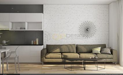 Thiết kế nội thất căn hộ chung cư 77m2 – The Prince Residence – CH02