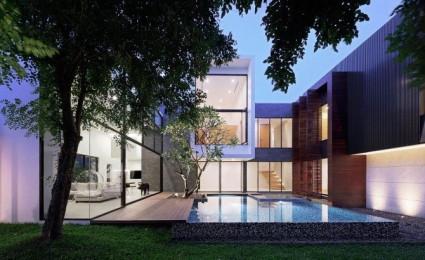Ngôi nhà với phong cách hiện đại tuyệt đẹp tại Thái Lan